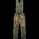 Bukser i løvfarvet camoflage