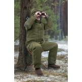 Varm jagtjakke til vinterbrug (-15 grader)