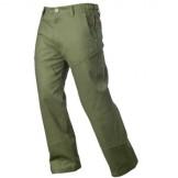 Jagtbuks/fritidsbuks i blødt jeansmateriale