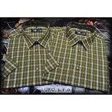 Flannel skjorte fra Luko i 100% bomuld